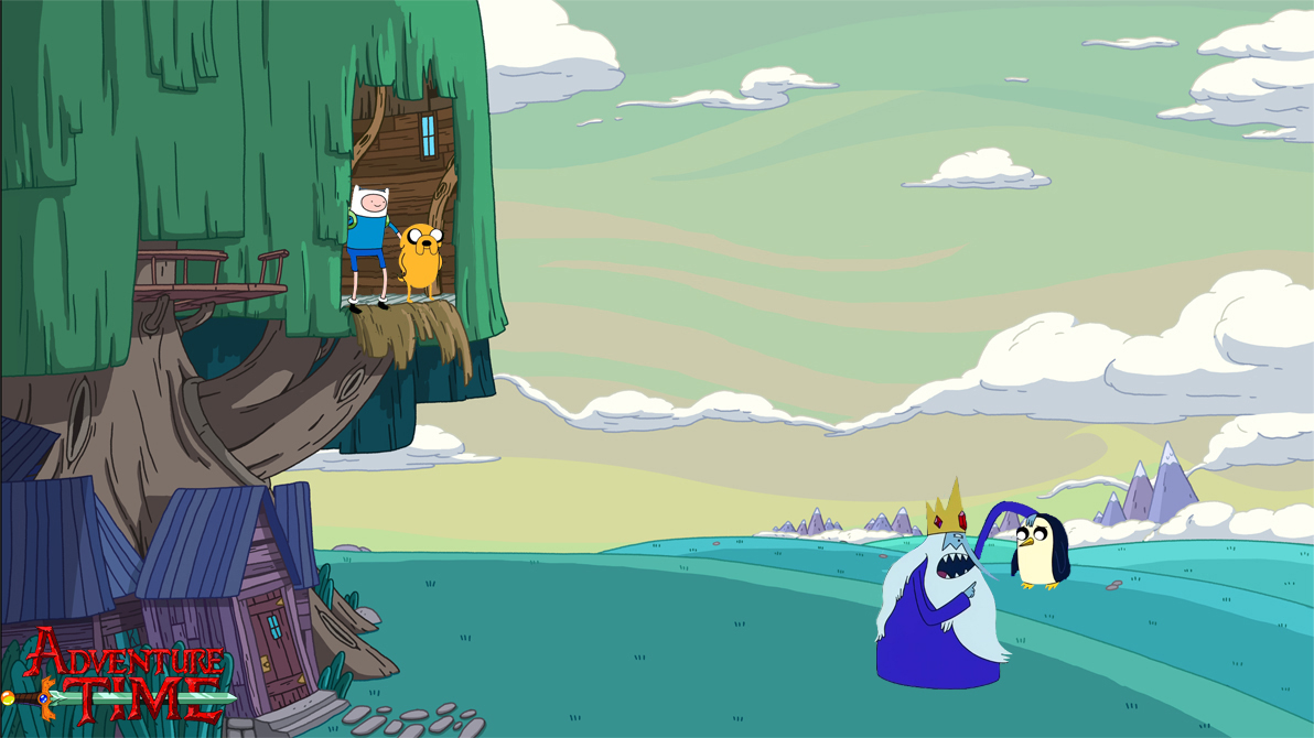 Adventure Time - No Gunther - Wallpaper by sebastiancooper