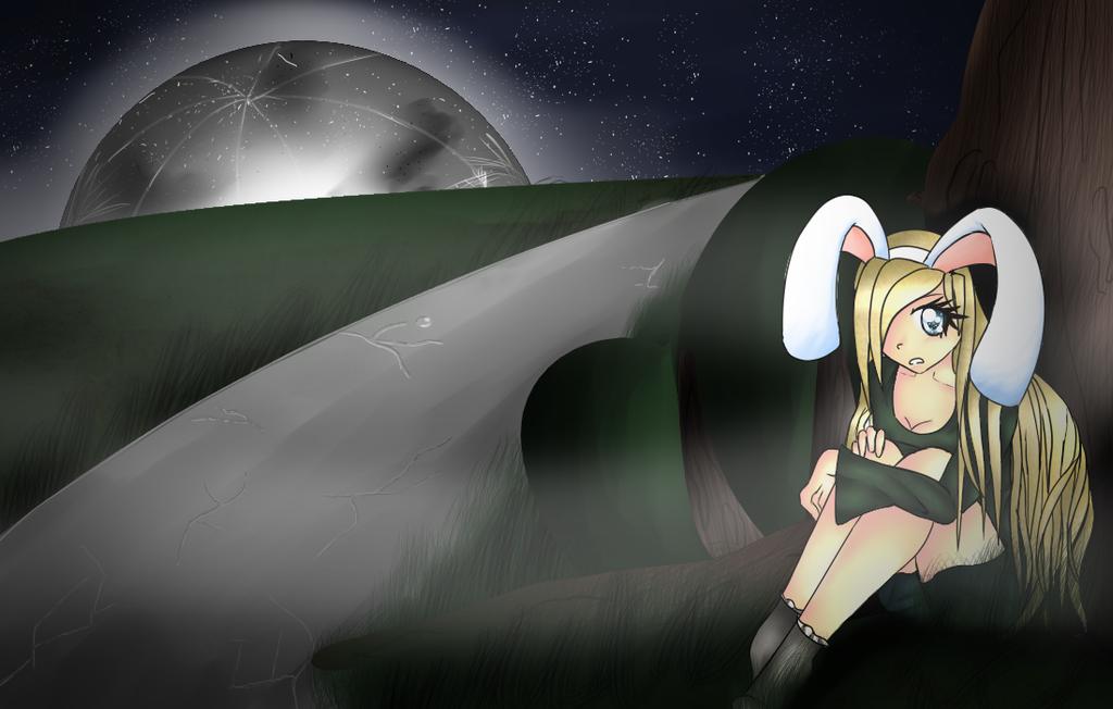 Dla Bunny_kou by CleaCutehKitten