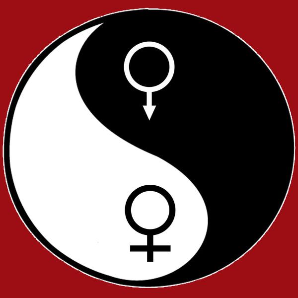 YinYang Gender Symbols by markbaland on DeviantArt