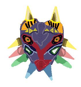 lame majoras mask by SusanBourne042