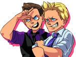 Miz and Jericho