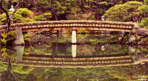 Sorakuen Bridge by Tim-Wilko