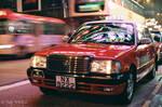Hong Kong Taxi by Tim-Wilko
