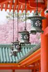 Lanterns of Heian-Jingu