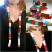 Beaded 4th Doctor Scarf