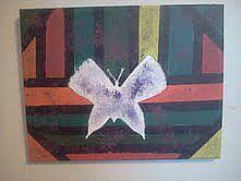Butterfly Shilouette by RachelAnnArtworks