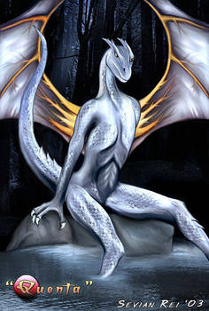 Quenta - Silver Dragoness