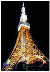 Tokyo tower at night 1
