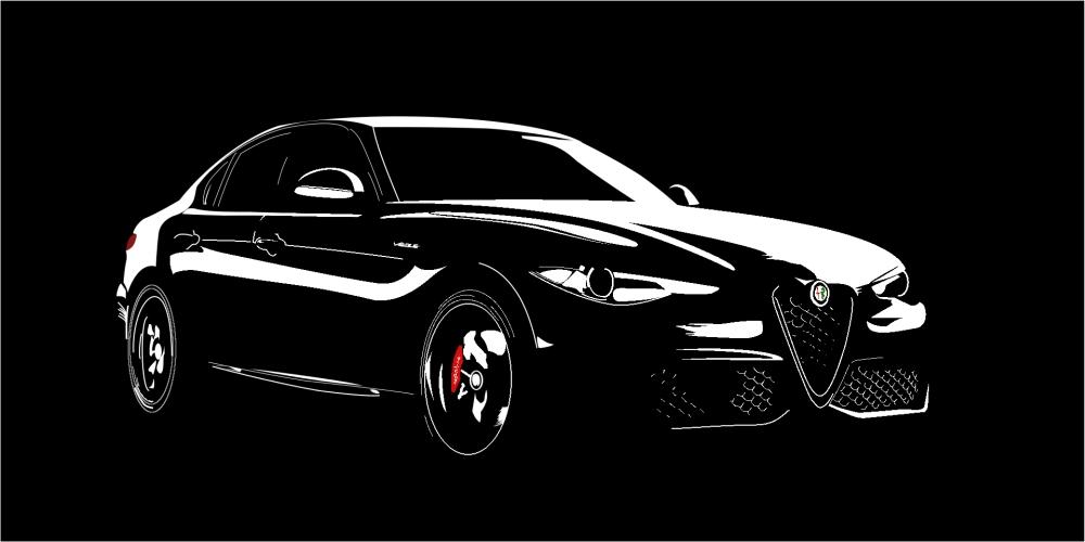 Alfa Romeo Giulia Veloce by Aplos