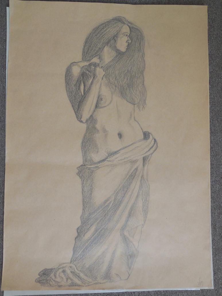 drawing 5 by Mechelkip