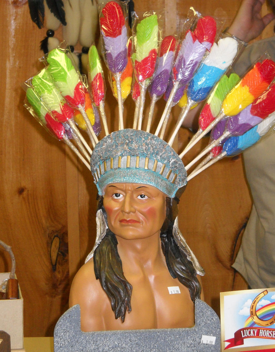 Indian Lollipop Head- Dress by Rockinangelz99