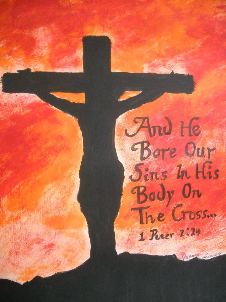 Jesus Dieing On The Cross Painting by Rockinangelz99Jesus On The Cross Painting
