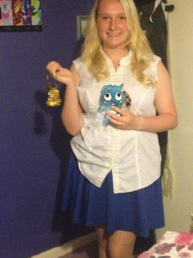 how to make lucy heartfilia cosplay