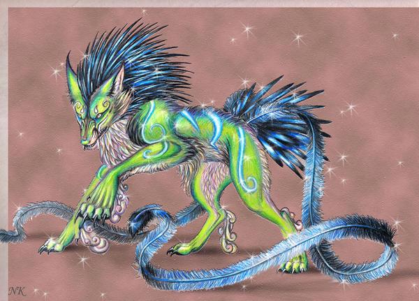 Rhoenad Beast by TheGuardianDragon