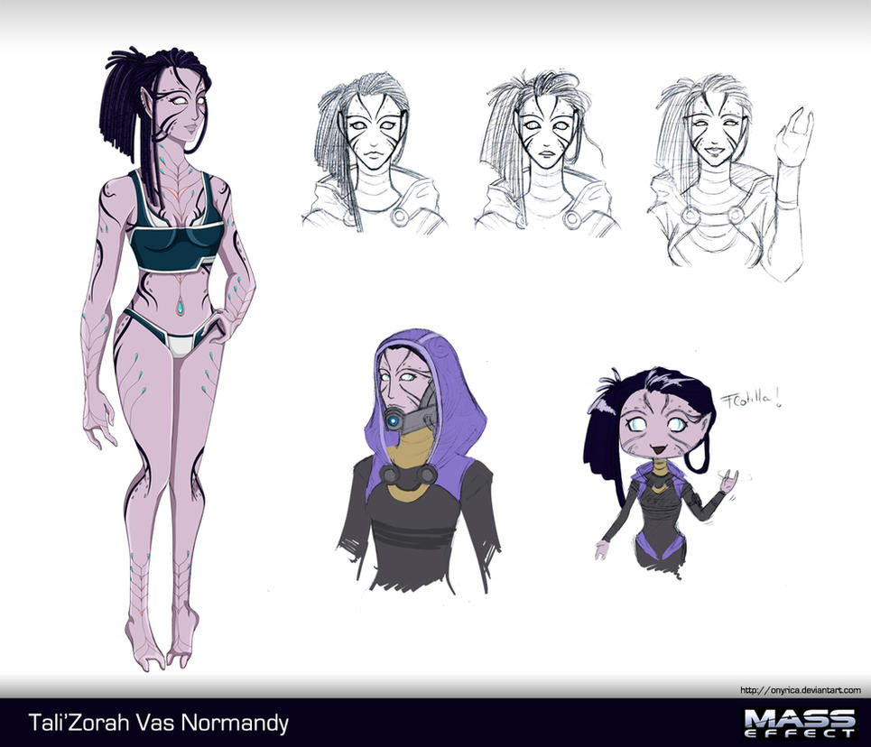 Tali'Zorah Concept (No Mask) by Onyrica