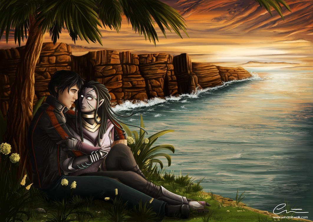 Commission: If I'm with you... by Onyrica