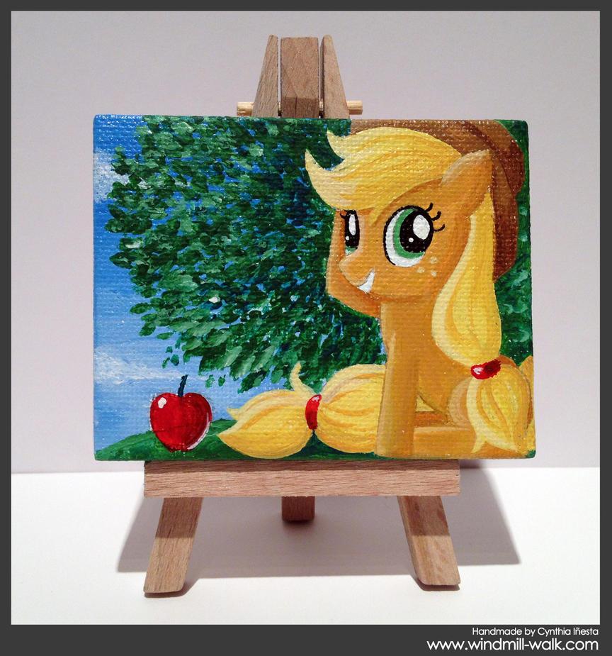 Applejack (Mini Canvas) by Onyrica