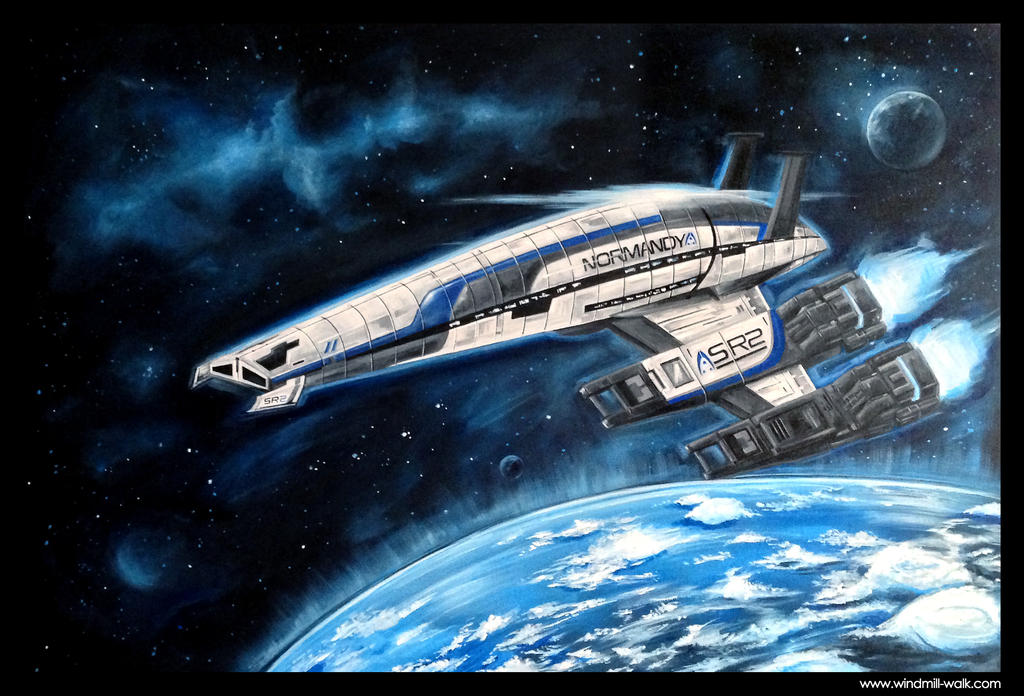 Normandy SR2 Alliance - Acrylic on canvas by Onyrica