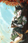 The Jade Huntress - [ Commission ]