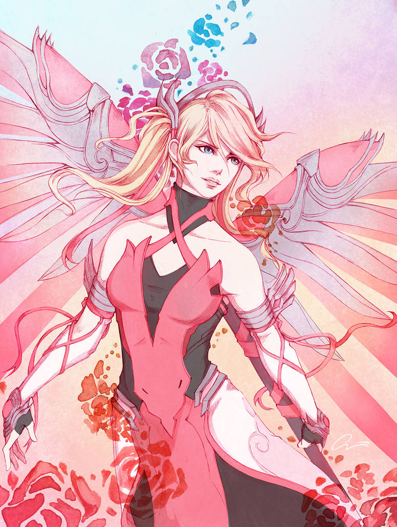 Pink Mercy! by Onyrica