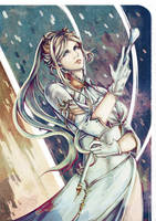 The White Commander (YoRHa Commander, NieR) by Onyrica