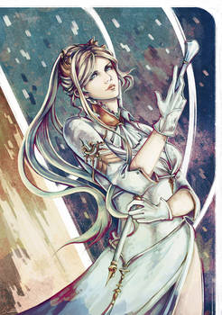 The White Commander (YoRHa Commander, NieR)