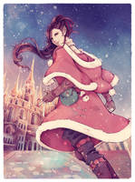 Starlight and Snow - [ Hilda, FFXIV ] by Onyrica