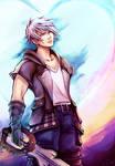 Facing my Fears - [ Riku, Kingdom Hearts III ] by Onyrica