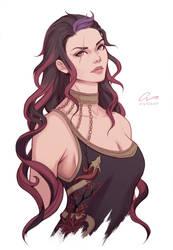 Raven Jaezred - [ DnD Patreon reward ]