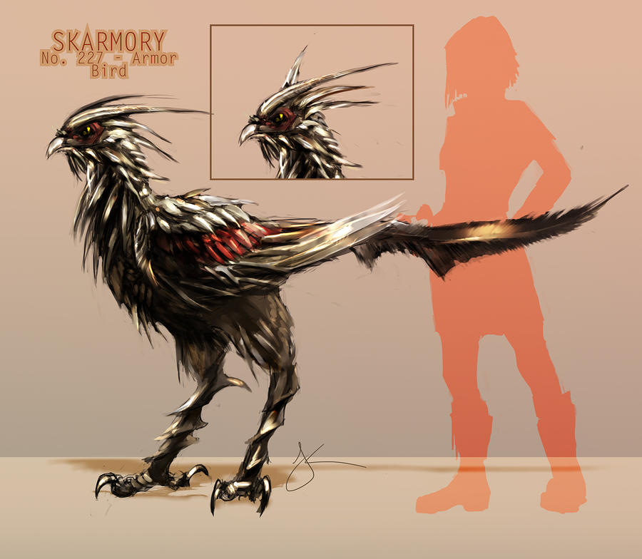 Skarmory Redesign by Jack-Kaiser