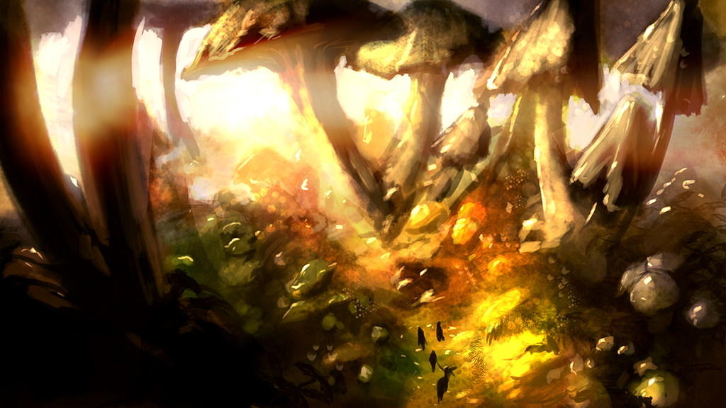 Mushroom Forest 20 minute study by Jack-Kaiser