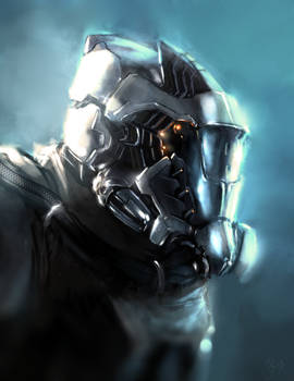 150114 - Sci Fi Helmet