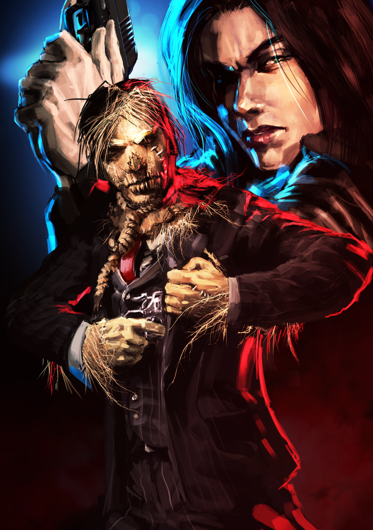 Cover for Lady Kingston and the Scarecrow by Jack-Kaiser