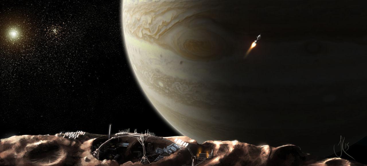 150428 - View of Jupiter from Metis