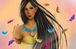 Pocahontas Bust