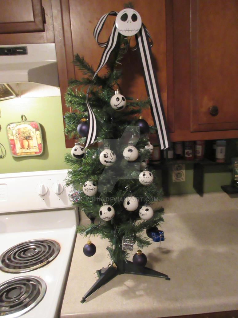 Nightmare Before Christmas Tree by k-h116 on DeviantArt