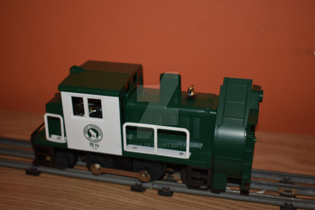 Post War Celebration Series GN Rotary Snowplow by k-h116