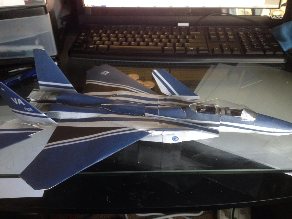 F-15S/MTD Sorcerer papercraft by AGiLE-EaGLE1994