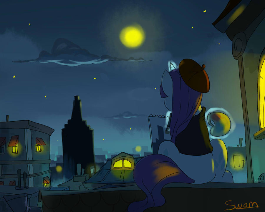 Night of the Paris by Swomswom