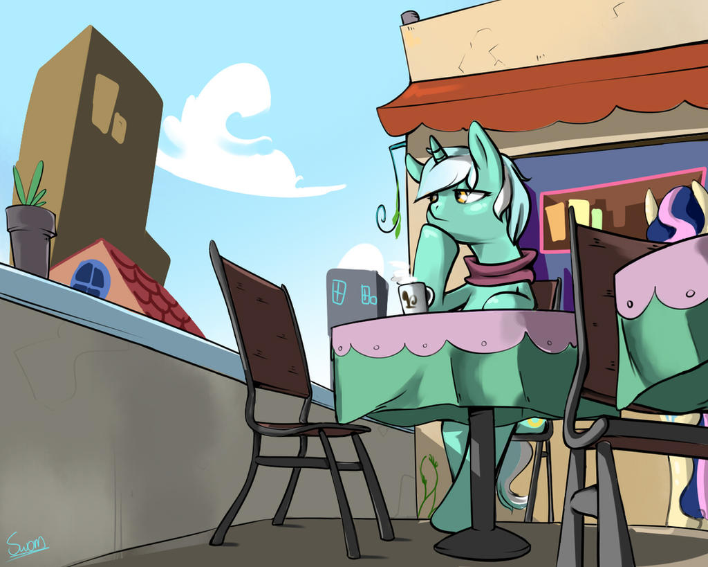 Cafe by Swomswom