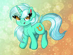 Lyra Is Floating In Pretty Sparkles