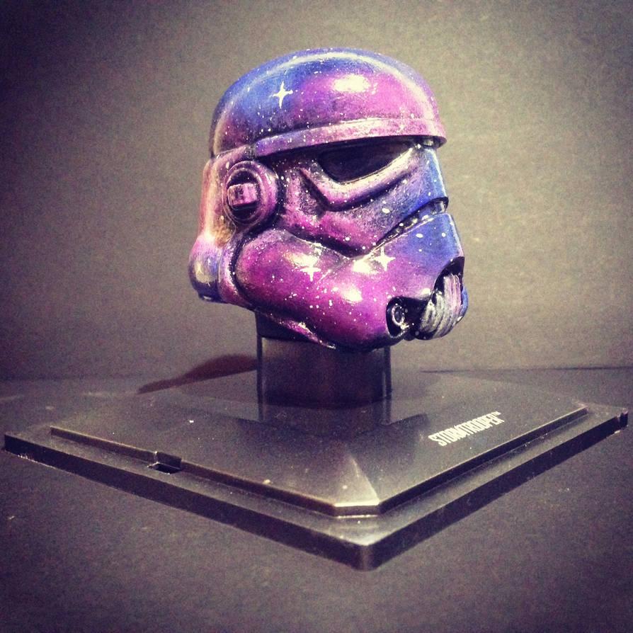The Galactic Trooper - Custom Stormtrooper helmet