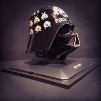 The Space In Vader - Star Wars Darth Vader by Pop-custom