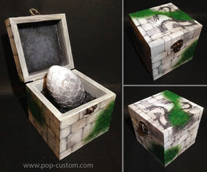 Dragon Egg Tomb Raider - Game of thrones by Pop-custom