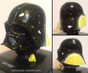 The Lemon Vader - Custom Star Wars Helmet