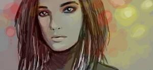 twitdraw: my 1st Bill Kaulitz