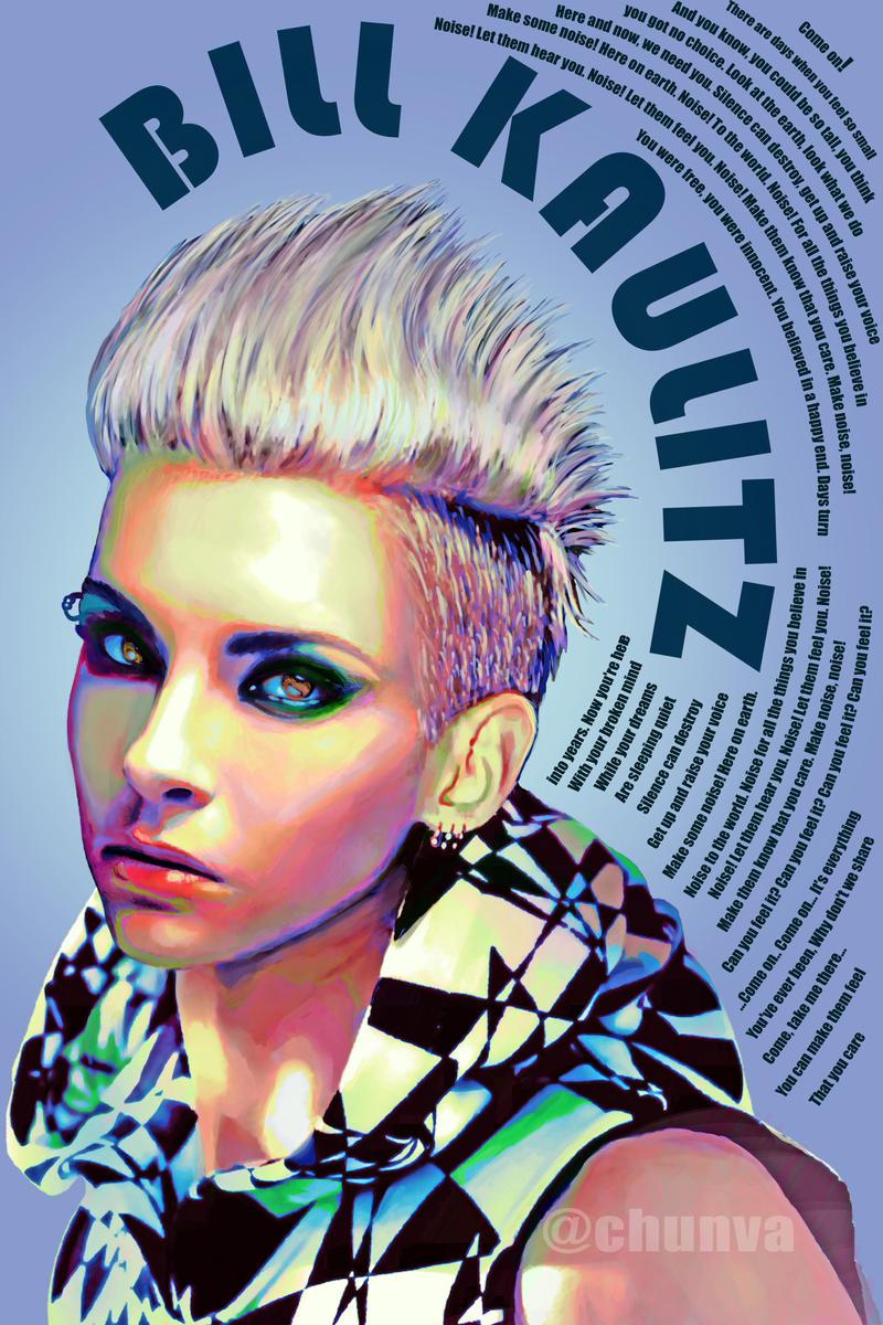 Bill Kaulitz - Noise by LONLOTRILILI