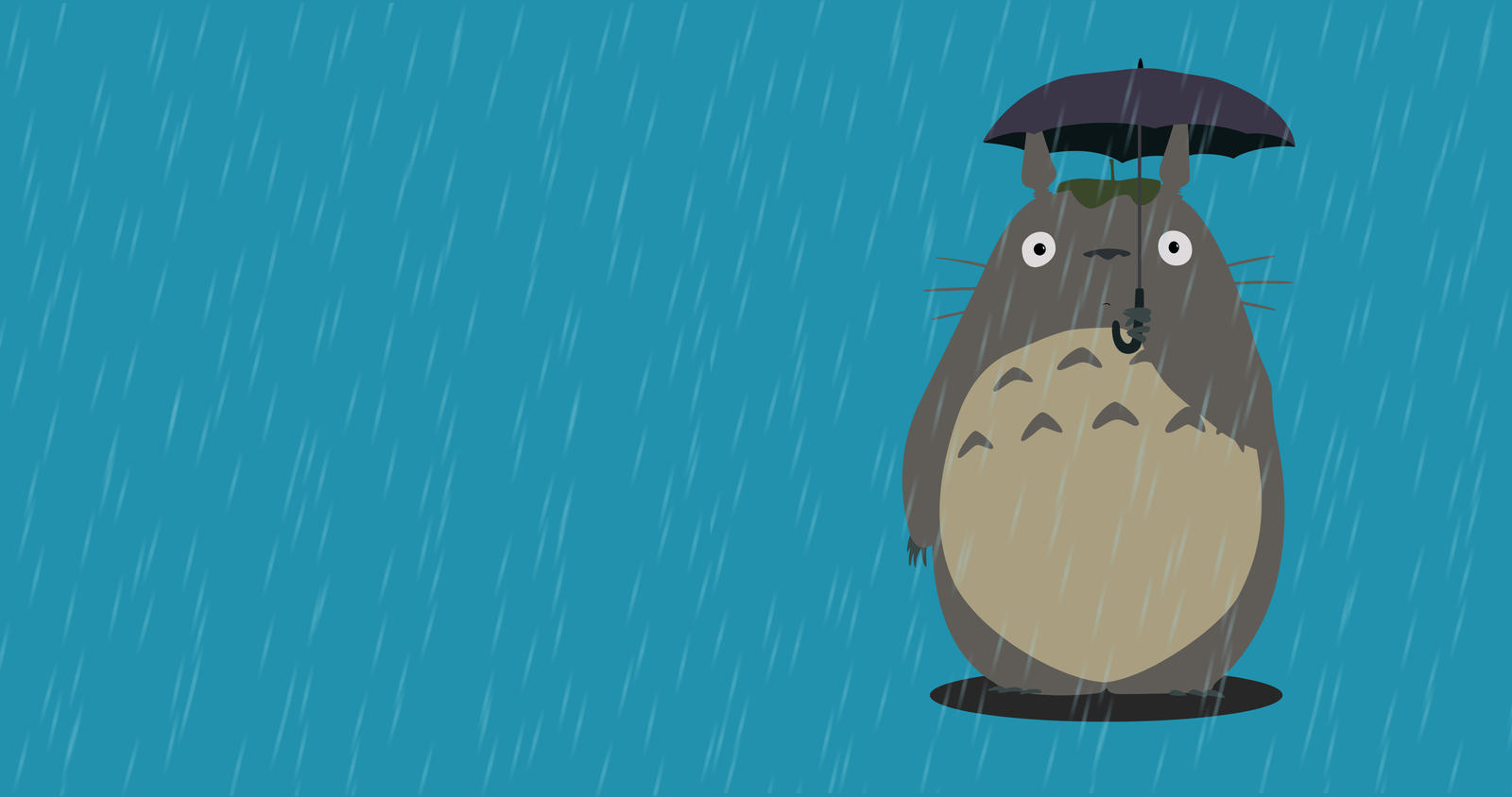 My Neighbor Totoro Wallpaper By Plplpl5 On Deviantart