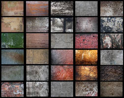 30 textures pack by Mihaela-VStock