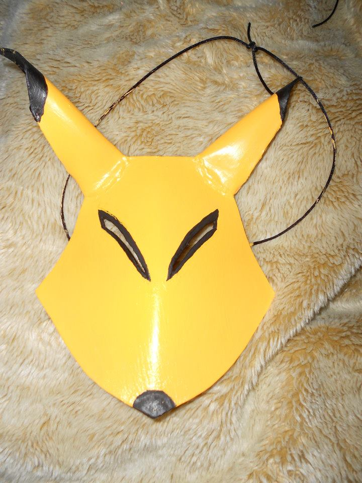 Keaton Mask by JessDaShadowWolf